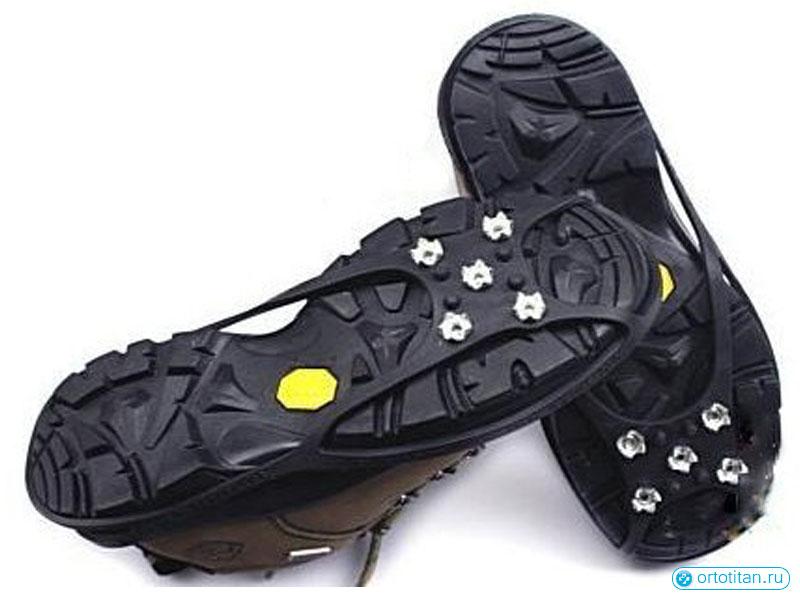 Ледоходы на обувь видео